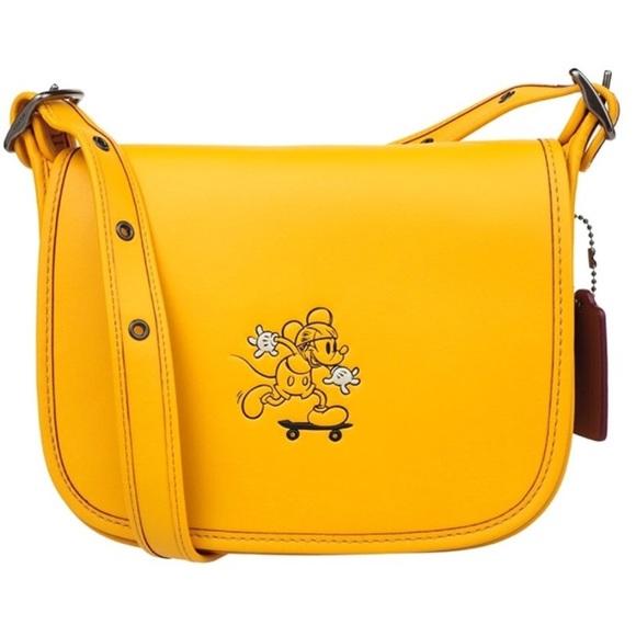 e9ed972c79a7 Coach Handbags - Coach Patricia New York Mickey Mouse crossbody bag